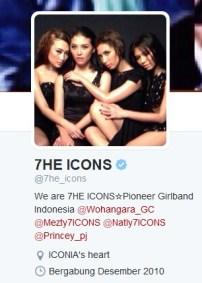 Twit 7 icons