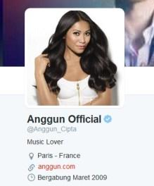 Twit Anggun C Sasmi