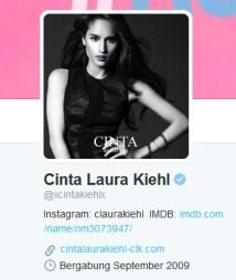 Twit Cinta Laura