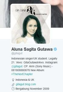 Twit Gita Gutawa