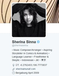 Twit Sherina Sinna